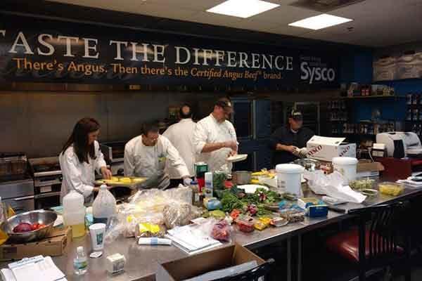 Chefs hard at work at Waltonwood