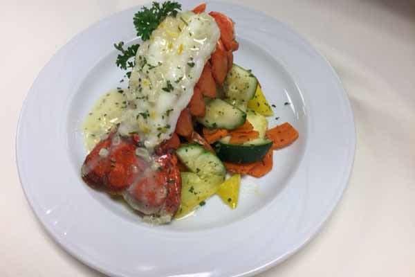 Lobster dinner at Waltonwood