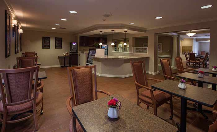 Waltonwood Cherry Hill offers a variety of amenities and care levels.