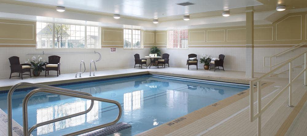 Pool at Waltonwood Lakeside in Sterling Heights, MI