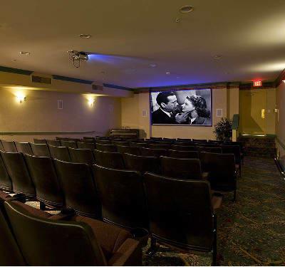 Movie room at Waltonwood Twelve Oaks in Novi, MI