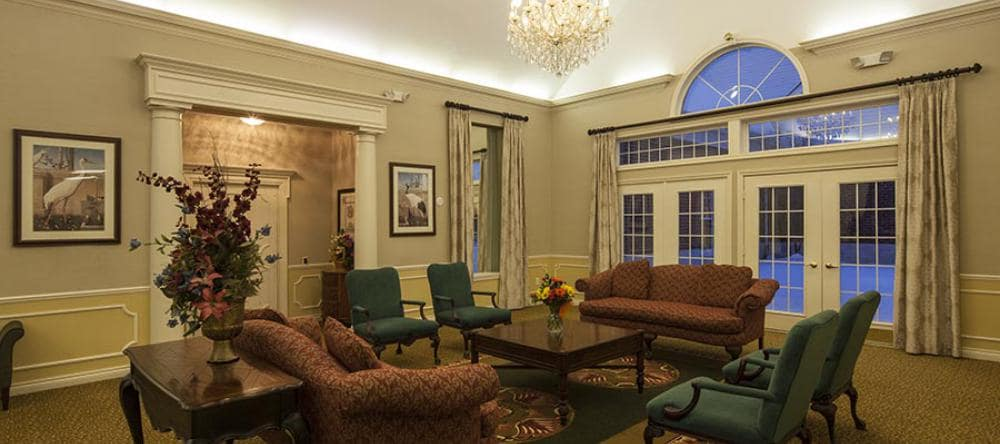 Enjoy a beautiful living space at Waltonwood Twelve Oaks assisted living facility