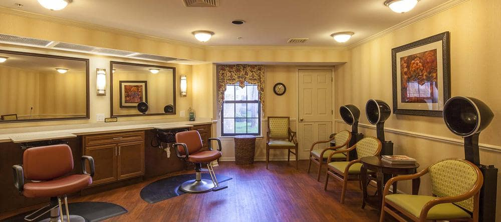 Our senior apartments in Rochester Hills, MI with a spa & salon