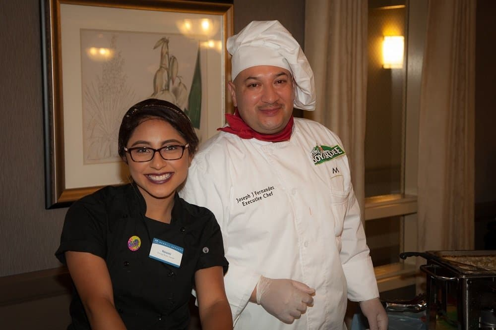 Chef and team member at Merrill Gardens at Oceanside