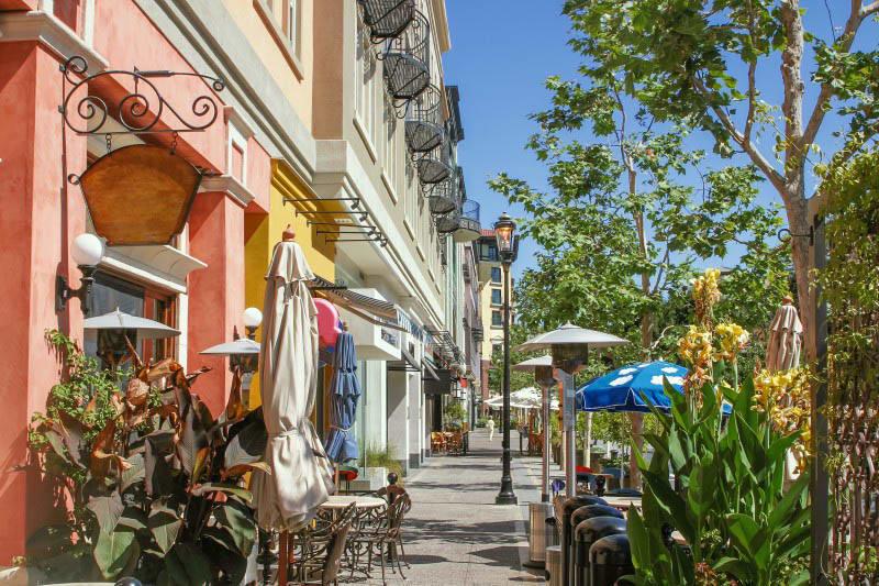 Shopping options at at senior living in San Jose