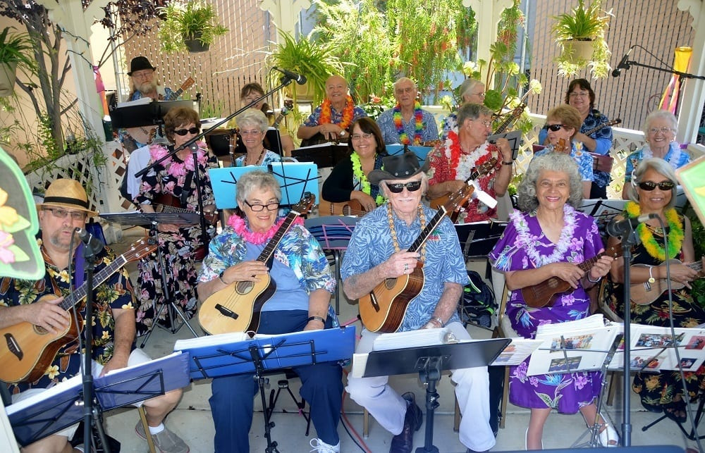 Merrill Gardens at Santa Maria Residents Band