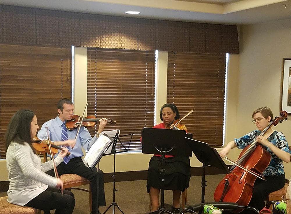 Band practice at Merrill Gardens at Green Valley Ranch