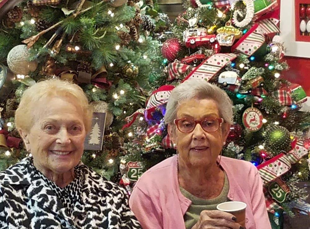 Residents enjoying the Holidays at Merrill Gardens at Green Valley Ranch