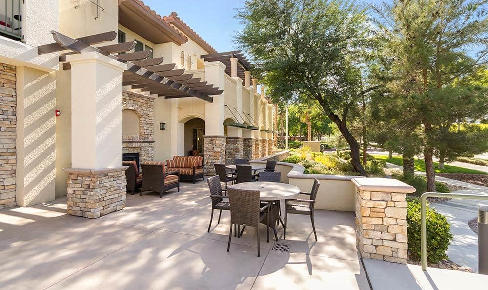 Enjoy your days outside at Merrill Gardens at Green Valley Ranch