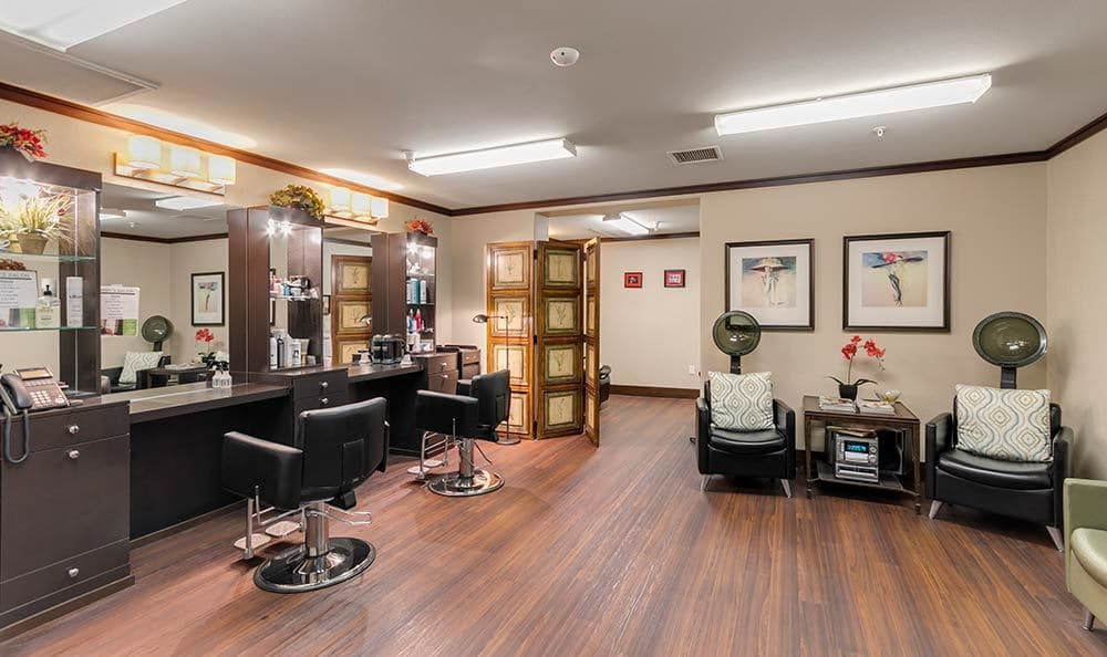 Henderson senior living salon