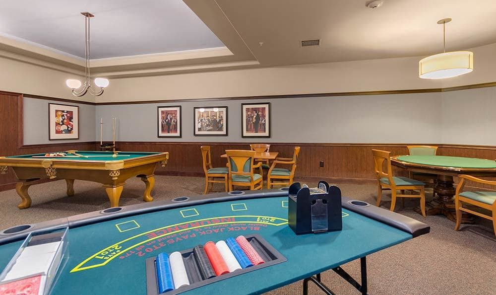 Merrill Gardens at Green Valley Ranch has your favorite games
