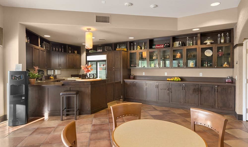 Wondrous kitchen at Merrill Gardens at Green Valley Ranch