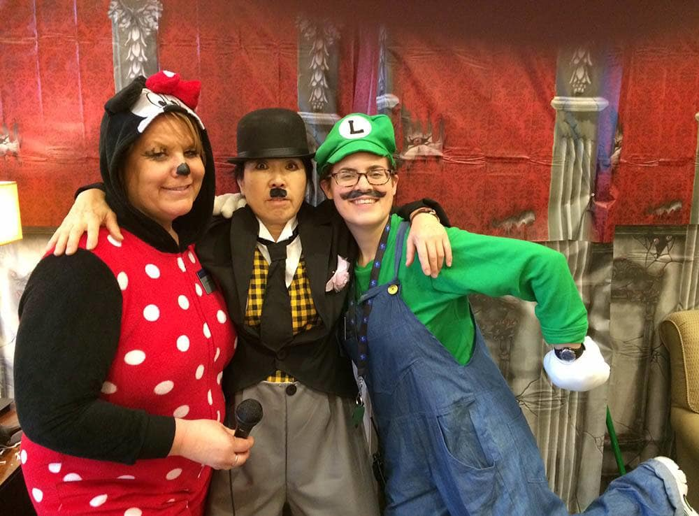 Mario and Friends at Merrill Gardens at Kirkland