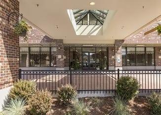 Exterior of Renton senior living facility