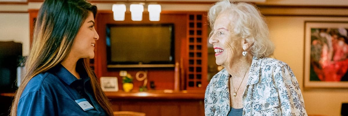 Find the right assisted living at senior living in Woodstock