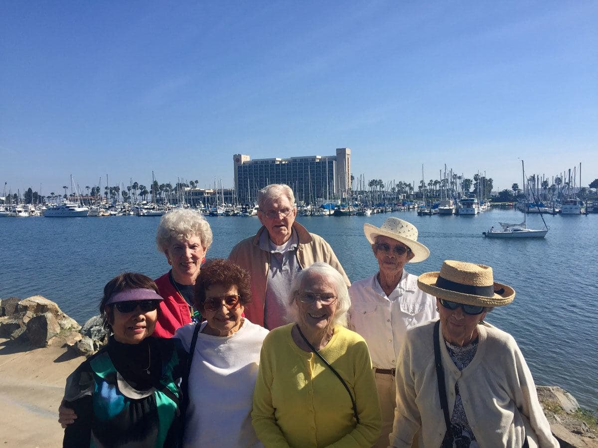 Group photo at Spanish Landing Park