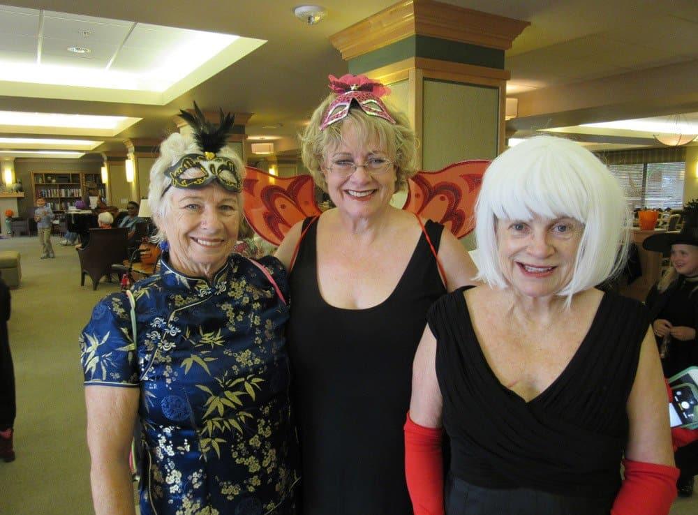 Ladies enjoying activities at Merrill Gardens at Bankers Hill