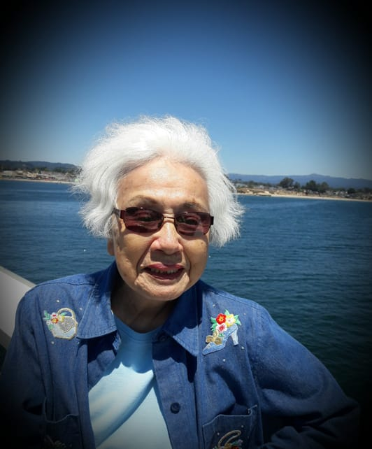Resident at Merrill Gardens at Campbell enjoying beach views