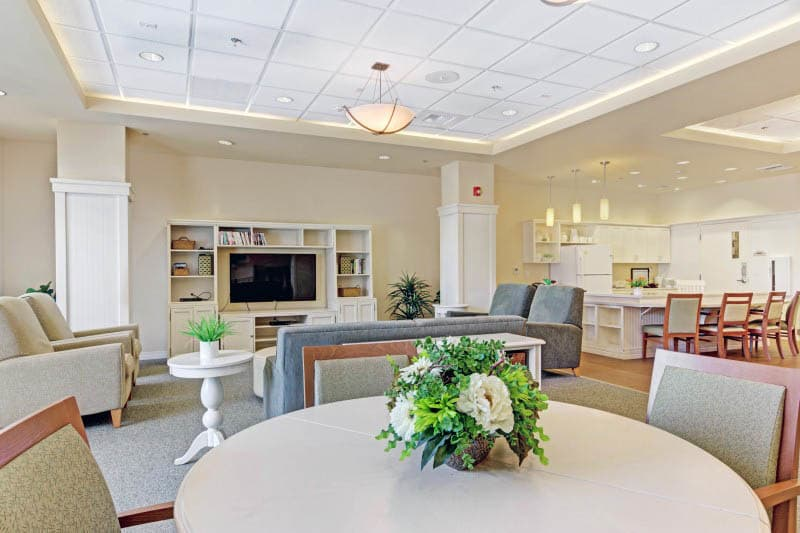 Interior at Lafayette senior living