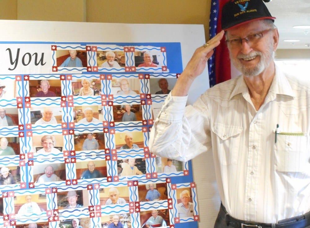 Veteran Resident at Merrill Gardens at Gilroy