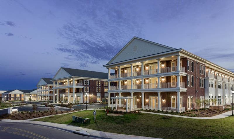 Exterior at Madison senior living