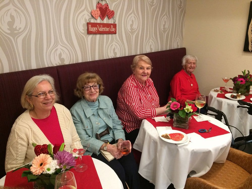 Valentines Day at The Patrician, A Merrill Gardens Community in CA