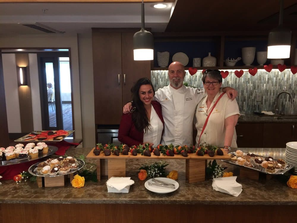 Valentines Day Celebration at The Patrician, A Merrill Gardens Community in CA