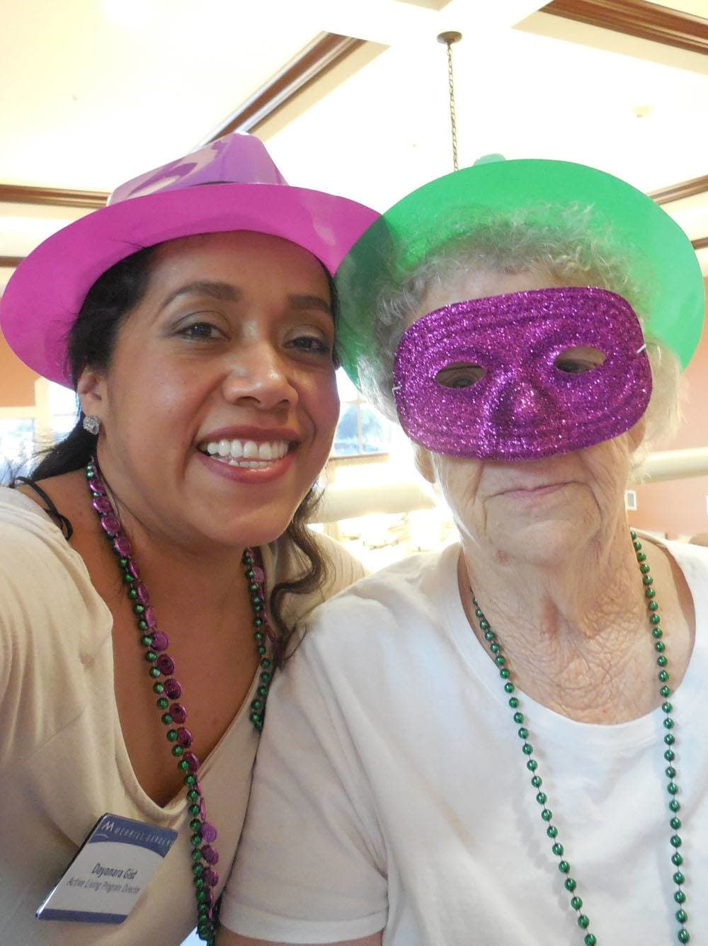Mardi Gras at The Groves, A Merrill Gardens Community