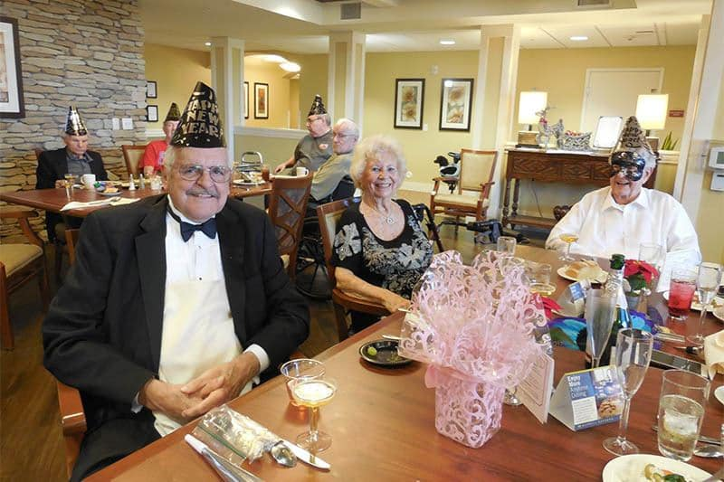 News Years Eve Celebration at The Groves, A Merrill Gardens Community