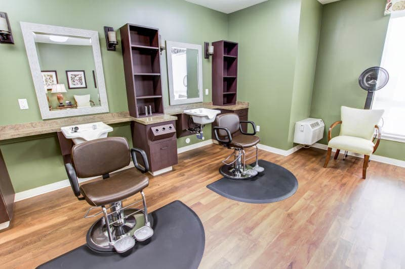 Salon at senior living in Goodyear, AZ