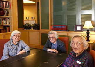 Residents at senior living in Rocklin