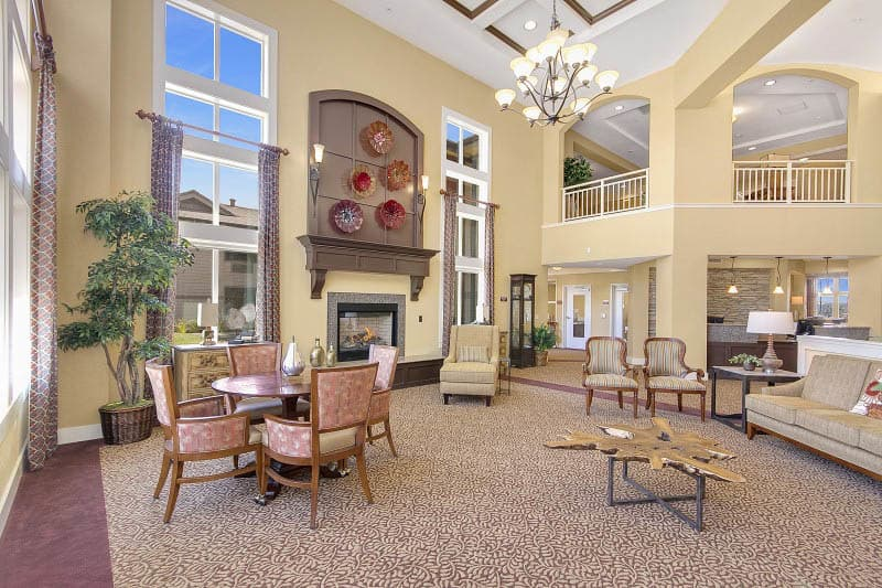 Interior at Rocklin senior living