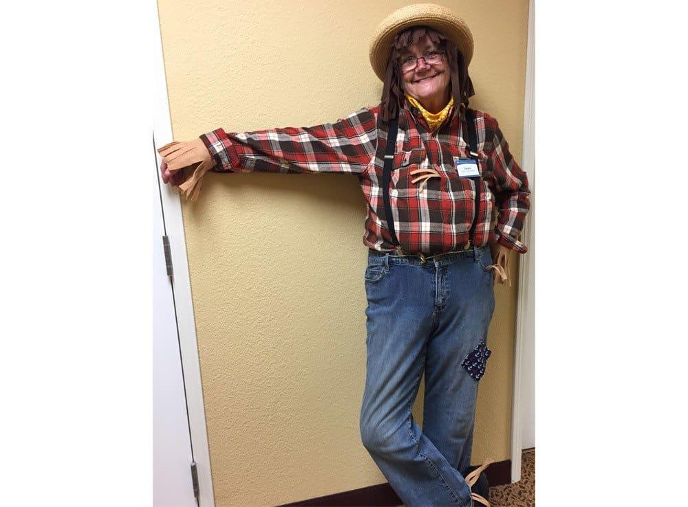 Halloween Scarecrow at Rocklin