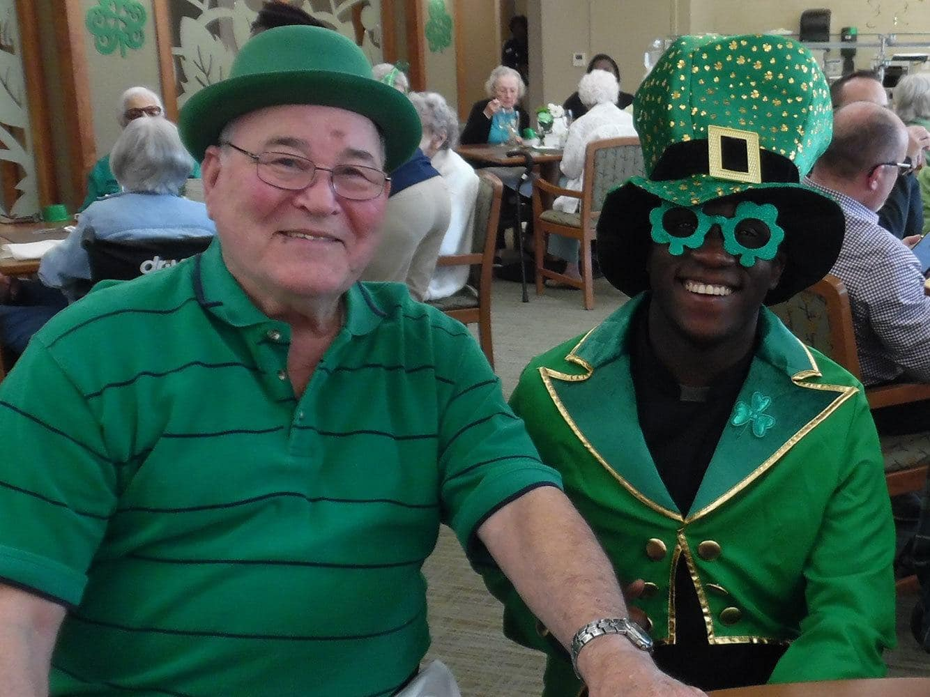 St. Patrick's day at Merrill Gardens at Woodstock