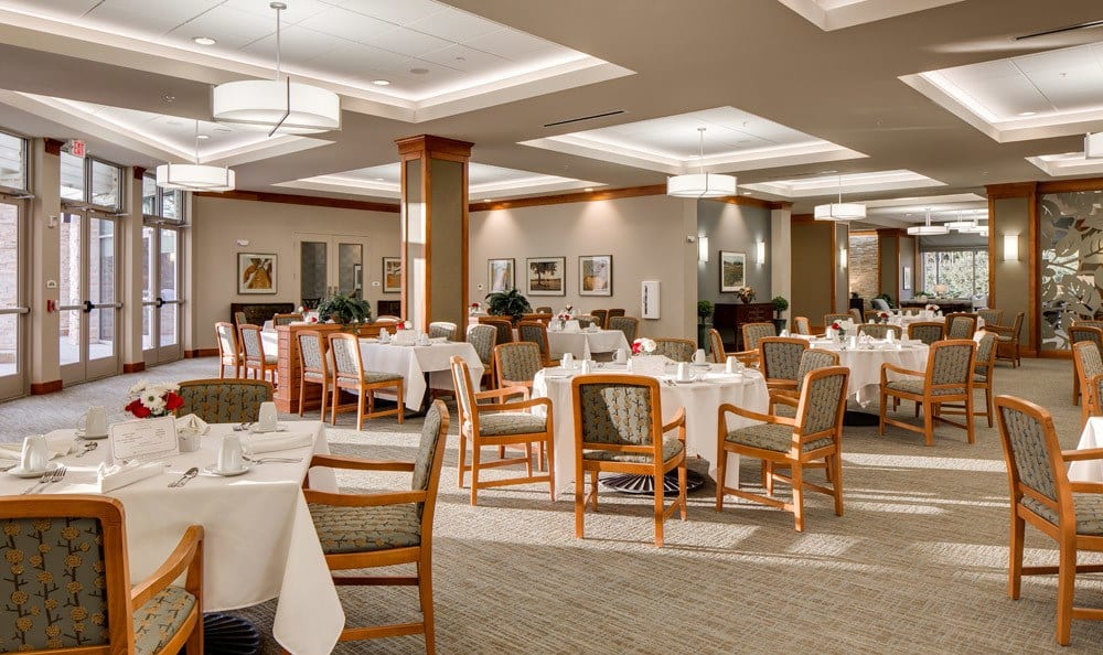 Dining Room at Senior-Living inWoodstock