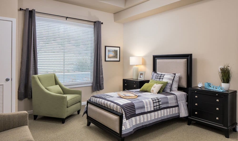 Large Bedroom at Senior-Living in Woodstock