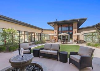 Exterior of Anthem senior living facility