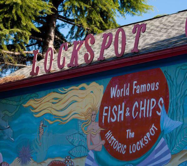 Local restaurant near Merrill Gardens at Ballard in Seattle, Washington