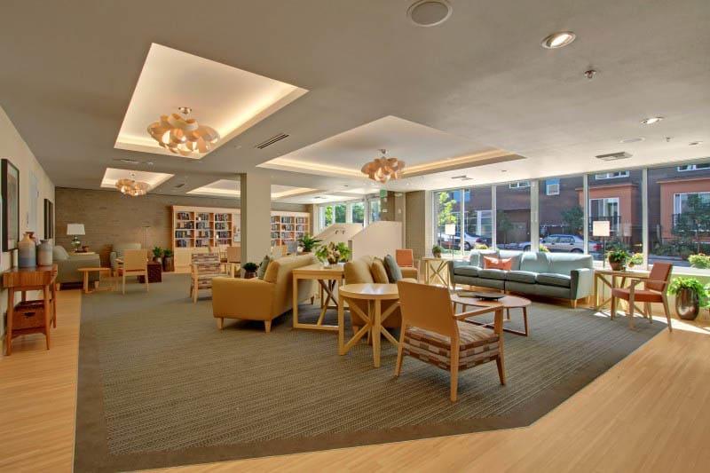 Lounge at Merrill Gardens at Ballard in Seattle, Washington