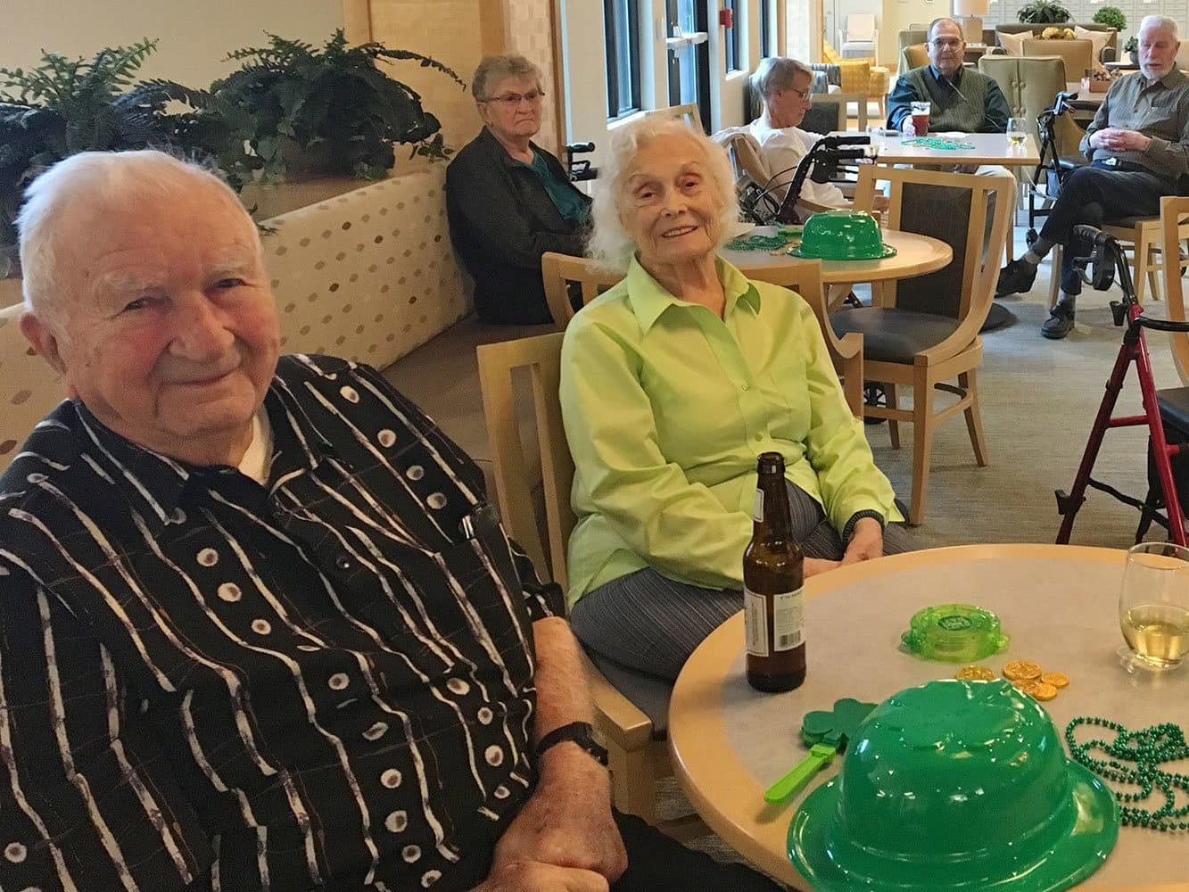 Fun St. Patrick's Day party at our senior living community