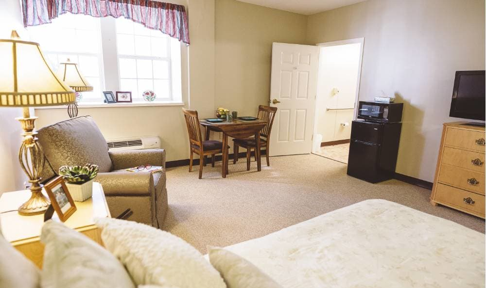 Bedroom at Broadview Assisted Living at Tallahassee
