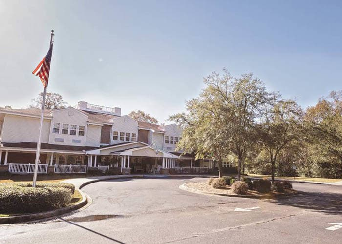 Exterior view of Broadview Assisted Living at Tallahassee