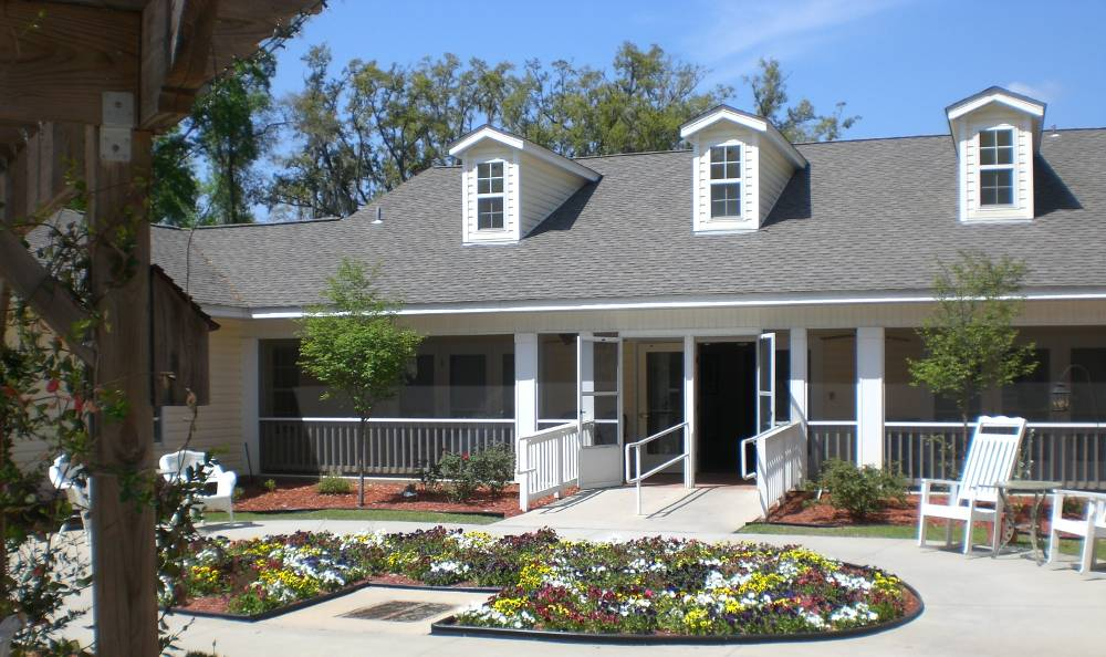 Exterior view of Tallahassee Memory Care