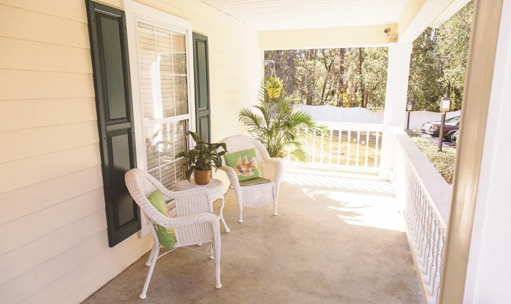 Porch at Tallahassee Memory Care