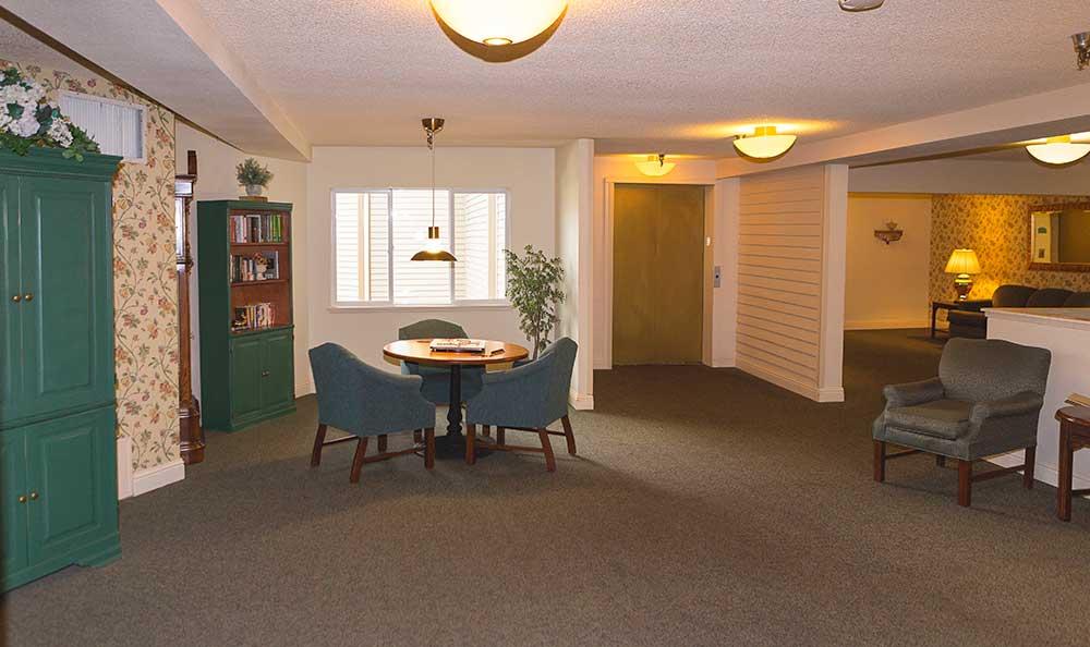 Open floor plans at The Village Senior Living