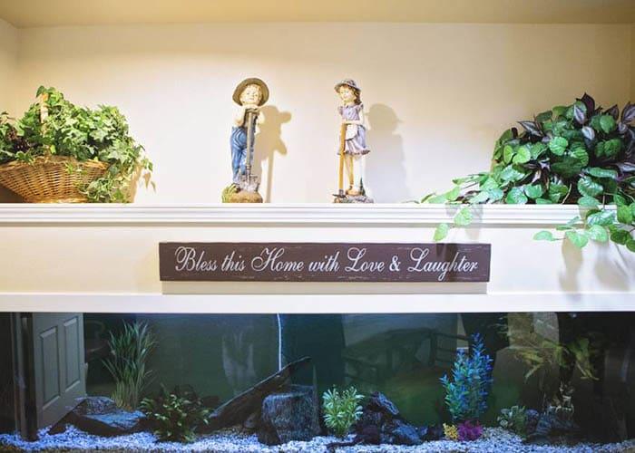 aquarium at Birchview Memory Care
