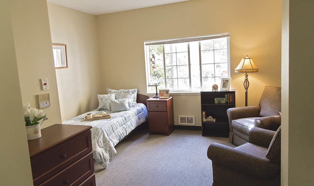 Private Living Spaces At Cooks Hill Manor Assisted Living In Centralia WA