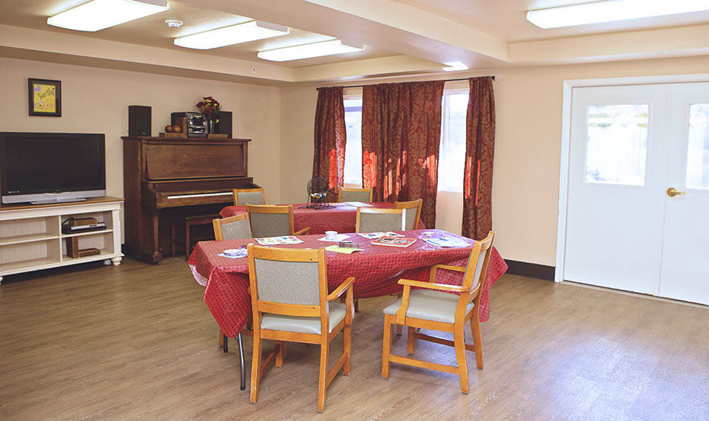 Activity Room At Discovery Memory Care