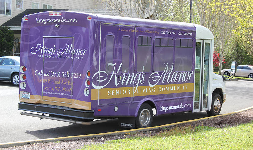 Transport for our residents  at King's Manor Senior Living Community