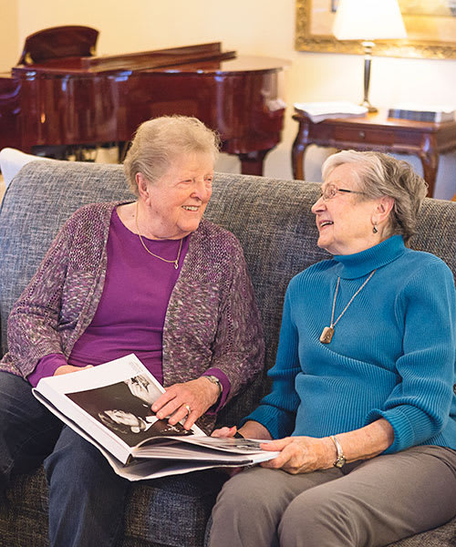 Assisted living services available at King's Manor Senior Living Community